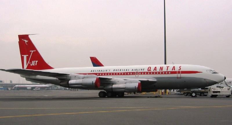 John Travolta S Qantas 707