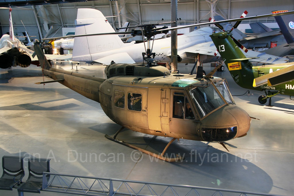 Bell UH-1H Huey Smokey III at the Udvar-Hazy Center NASM ...