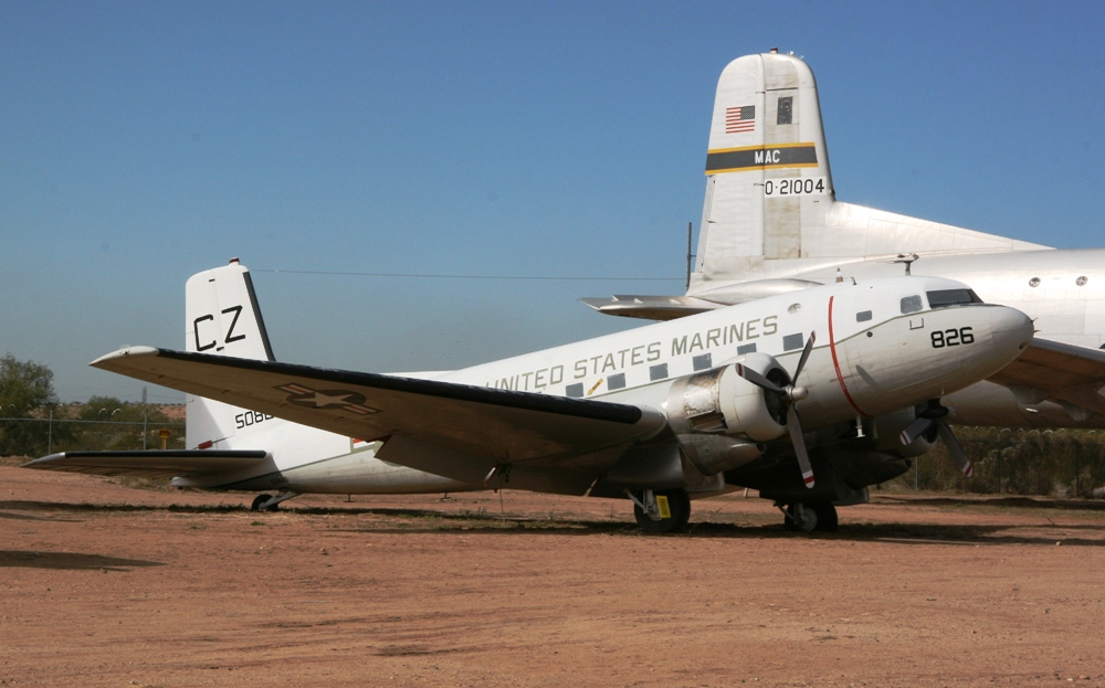 Douglas C-117D super Gooneybird at the Pima Air & Space Museum