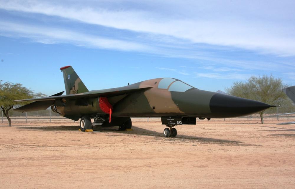 General Dynamics F-111E Aardvark at the Pima Air & Space ...