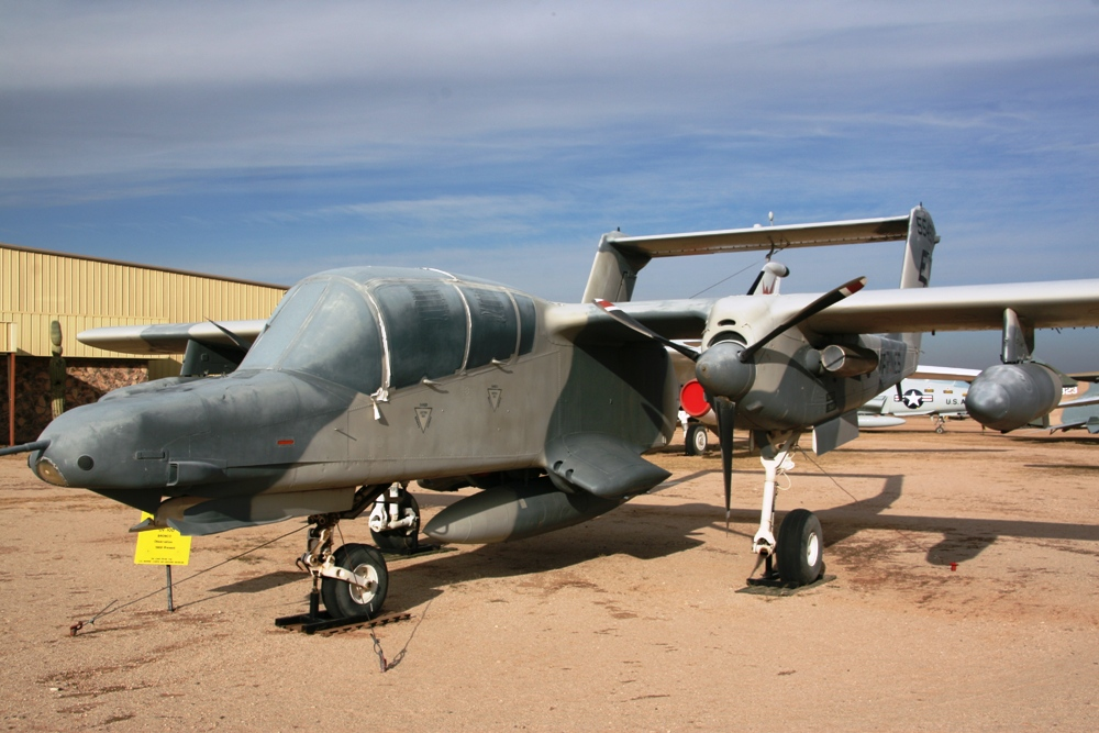 North American Rockwell OV-10D Bronco at the Pima Air ...