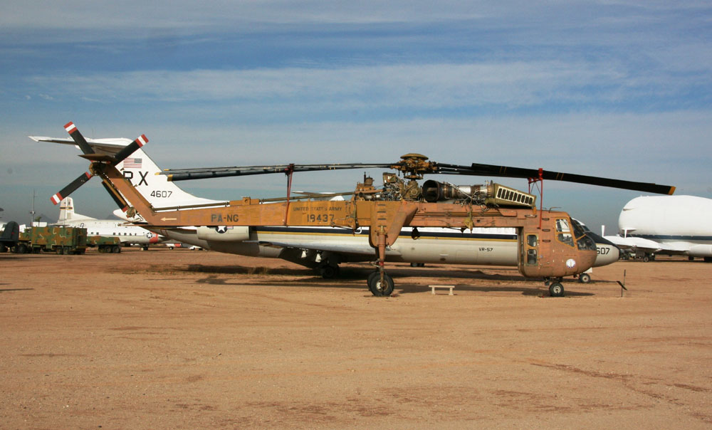 Elicottero S 61 : Sikorsky ch a s skycrane at the pima air space museum
