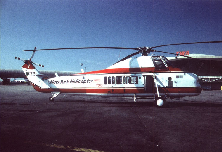 Elicottero S 58 : New york helicopter s