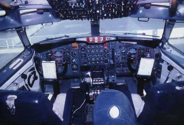 Inside Air Force One Cockpit Images