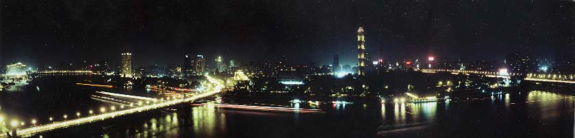 Cairo at night (west)