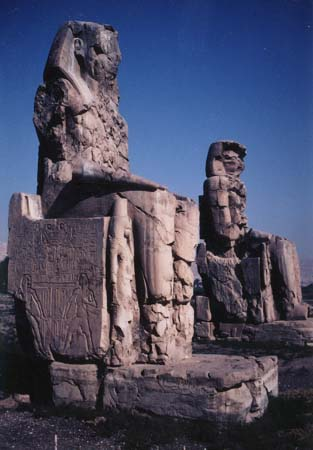 The Collosi of Memnon