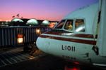 L-1011 nose at sunset STL