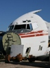 TWA 707 nose in boneyard